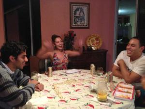 Dominoes & Don Julio With The Berdiel Family