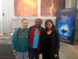 White Bianca, Kester & Malaena @ Cirque Du Soleil IHQ