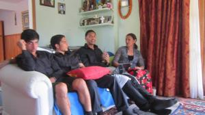 Fale, Kourosh, Krit & Mum Yelling As Usual