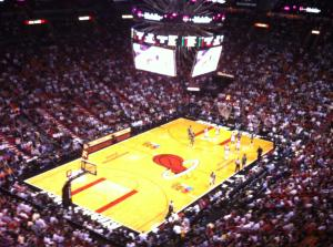 Miami Vs Boston NBA Game