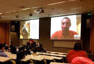 Skyping Students In New Zealand