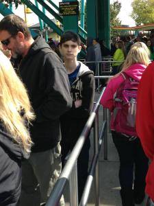 Daywalking Vampire @ Cedar Point