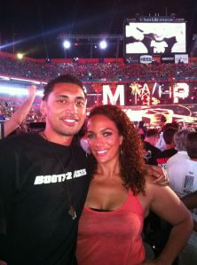 Krit & Savelina @ Wrestlemania
