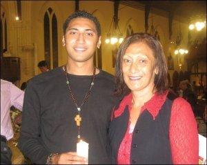 Krit & Mum [Easter 2008]