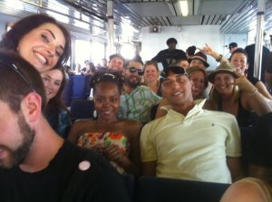 The New Zealand Crew & Court Catching The Boat To Rock The Bells [2010]