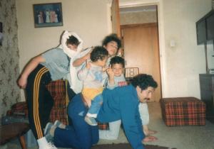 Soranya, Desley, Krit, Miki & Dad
