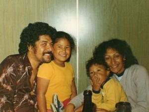 Dad, Leini, Miki & Mum