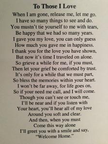 To Those I Love...