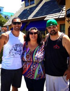 Krit, Atua & Peter Jr