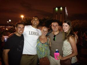 Ross, Krit, Krista, Brian & ?