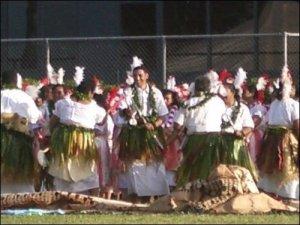 Krit Performing The Soke @ The Coronation [Tonga]