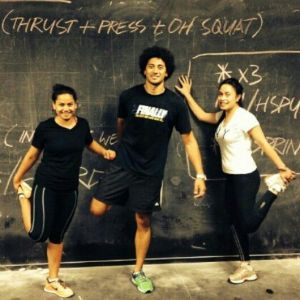 Working Out With The Tongan Zombies