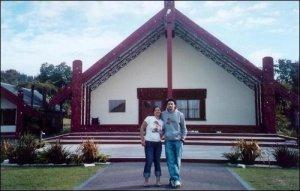 Hoki & Krit @ Whakarewarewa/Te Puia