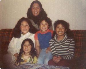 Soranya, Desley, Aunty Anna, Leini & Elizabeth