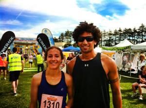 Tulsi & Krit After The Kerikeri Half Marathon
