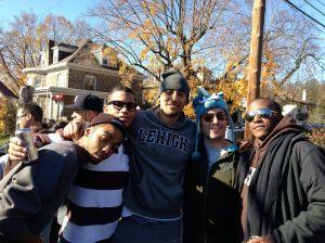 Tenny, Khaleel, Krit, Greg & Sean @ Lehigh-Lafayette
