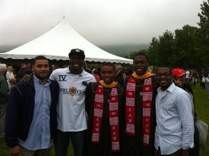 Brothers Of Kappa Alpha Psi @ Graduation