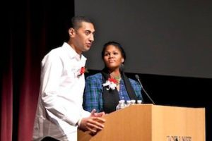 Krit & Shalena Representing Grad Students @ The MLK Celebrations Opening Ceremony