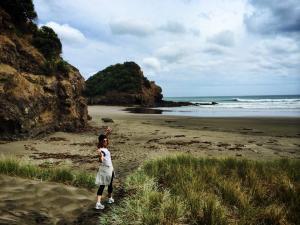 Goal Setting On A Bush Walk [Bethells Beach]