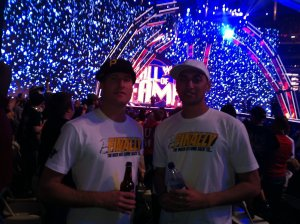 Tim & Krit @ Wrestlemania [Atlanta]