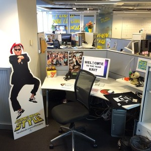 The MTV Office!