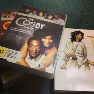 "Packing The Essentials!  ""The Cosby Show"" DVDs & Manga Bible"