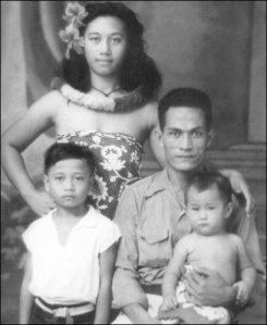 Grandma, Granddad, Uncle Peter & Aunty Tree [Samoa]