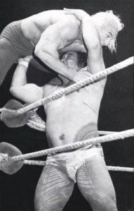 Nature Boy Rick Flair Getting Thrown About