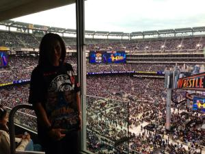 Mum In The Suite @ Wrestlemania [New Jersey]