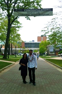 Aunty Ata & Krit – Student Life Leadership Awards @ Lehigh University