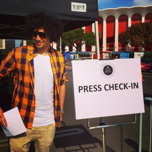 VMAs Press Check-In