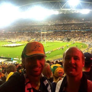 Krit & Tim [The All Blacks Vs The Wallabies]