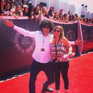 Krit & Alicia From MTV USA [VMAs Red Carpet]