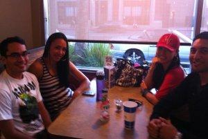 Ben, Amelia, Rina & Krit [Los Angeles, 2011]