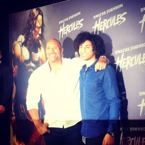 "First Red Carpet! [""Hercules""]"