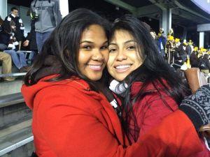 Shalena & Brenda [Lehigh Lafayette Game 150]