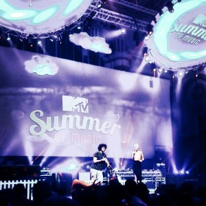 Hosting MTV Summer